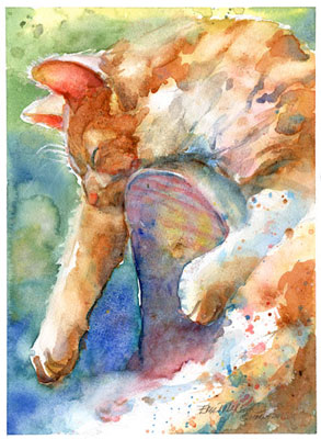 Watercolors by Erika Nelson