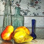 Grandma's Pears by Carolyn Schiffhouer