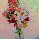 Still Life with Flowers by Carolyn Schiffhouer