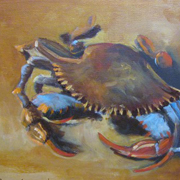 Blue Crab by Barbara Haviland