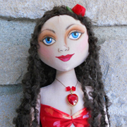 Mermaid Art Doll by Lisa Nelson