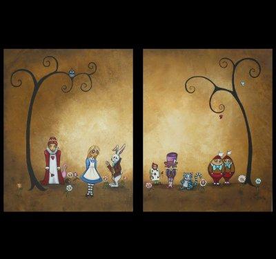 Alice in Wonderland Encore by Charlene Murray Zatloukal