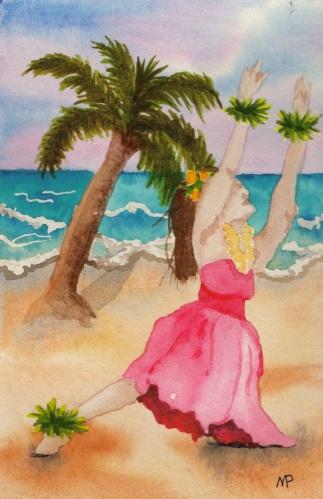 Aloha Hula by Melanie Pruitt