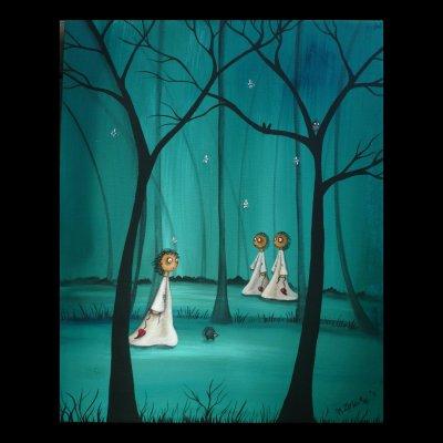 Forest Deep by Charlene Murray Zatloukal