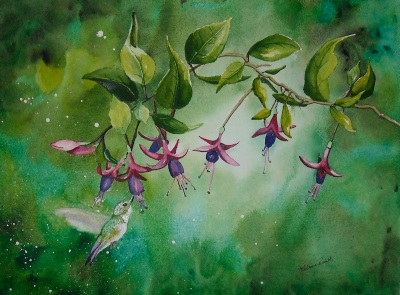 Garden Enchantment by Melanie Pruitt