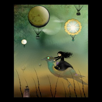 Steampunk Flight by Charlene Murray Zatloukal