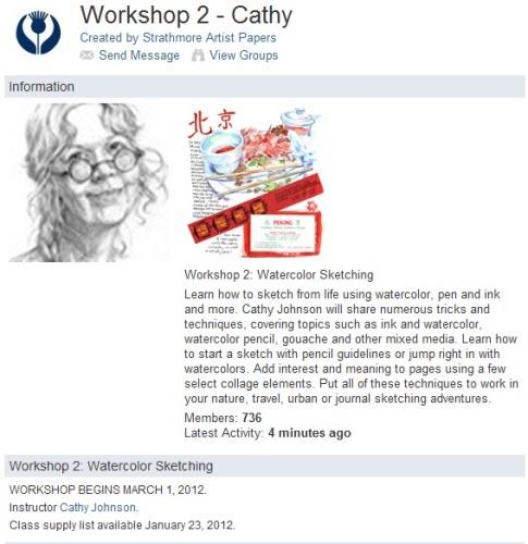 Cathy Johnson Strathemore Workshop