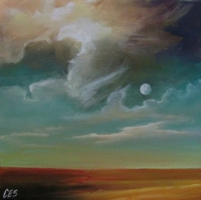 Moon Dreamscape by Christine Striemer