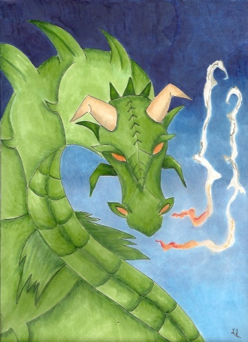 Dragon by Kathleen Ralph