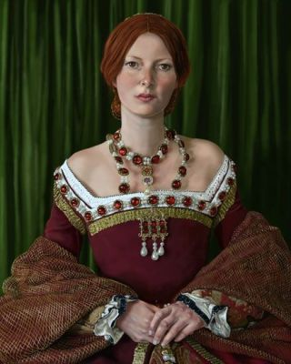 A Tudor Lady by Mark Satchwill