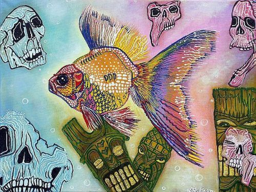 Goldfish Spirits by Laura Barbosa