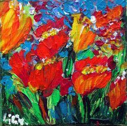 Tulips by Luiza Vizoli