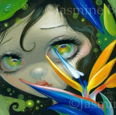 Faces of Faery 207 by Jasmine Becket-Griffith