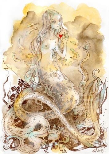 Little Mermaid by Natalia Pierandrei