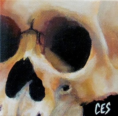 Skull 13 by Christine Striemer