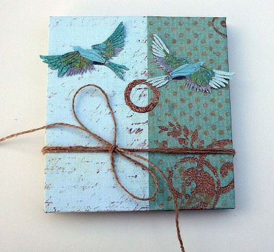 Artist Book by Lisa Monica Nelson - Mixed Media