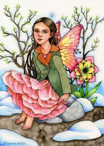 Blush of Spring by Carmen Medlin