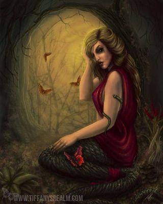 Cursed Lamia by Tiffany Towland-Scott
