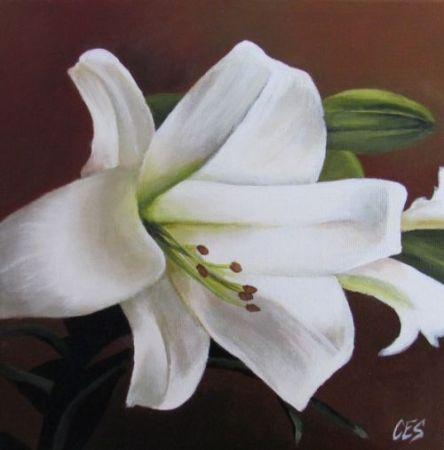 Easter Lily by Christine Striemer