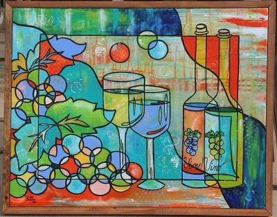 Happy Hour For Two by Melanie Douthit