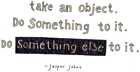 Get Inspired - Jasper Johns