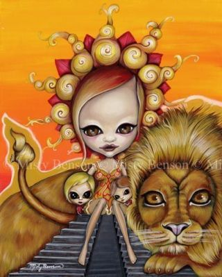 Morbidly Adorable Tarot Sun by Misty Benson