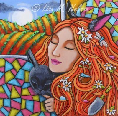 Spring Garden by Lisa Monica Nelson