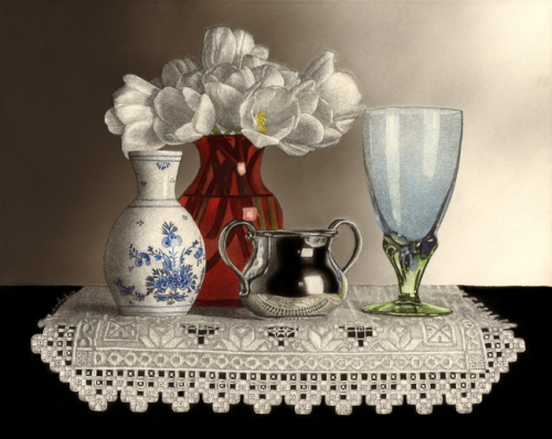 Still Life with Hardanger by Sandra Willard