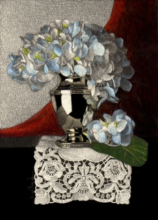 Classical Hydrangea by Sandra Willard
