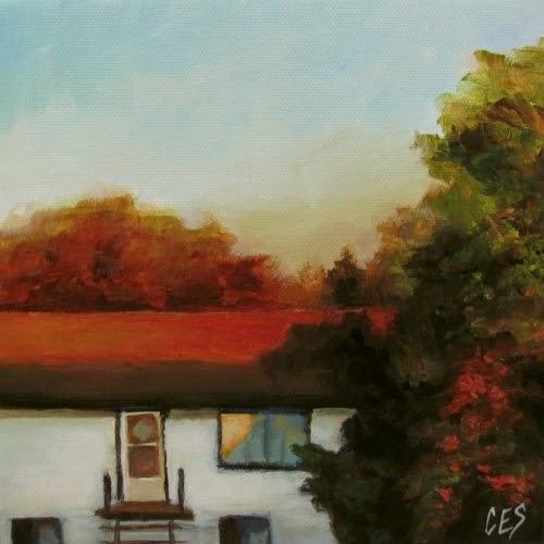 Across the Street by Christine Striemer