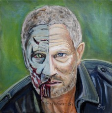 Zombie/Merle Dixon by Heather Sims