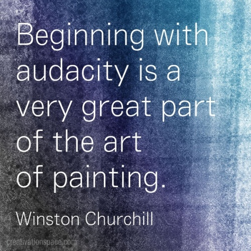 The Art of Painting by Winston Churchill