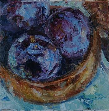 Plum Tasty by Carol DeMumbrum