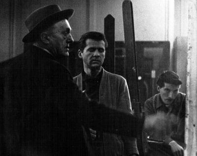 Max Beckmann, teaching in 1950