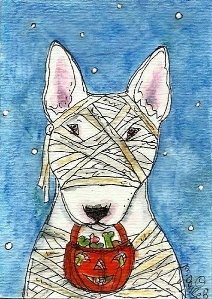 Mummy Terrier by Melinda Dalke