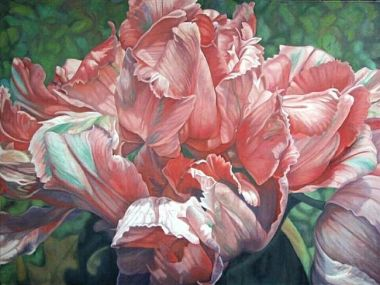 Parrot Tulips by Harlan