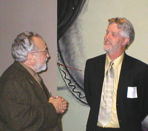 Nathan Oliviera and John Seed, 2003- John Seed was a student of Nathan Oliveira's from 1975 to 1979