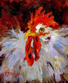 Rooster No. 19 by Delilah Smith
