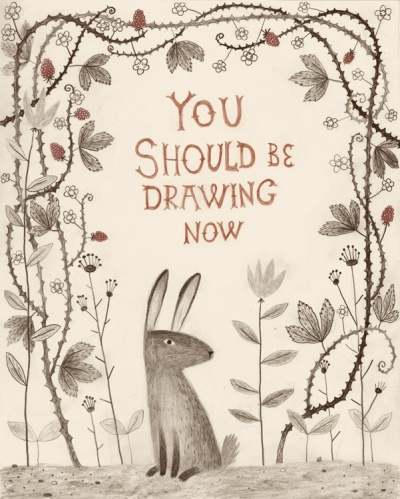 You should be drawing now by Chuck Groenink