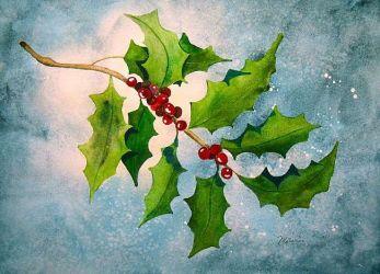 Enchanted Holly by Melanie Pruitt