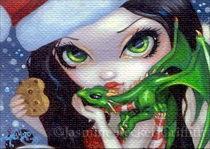Faces of Faery 132 ACEO by Jasmine Becket-Griffith