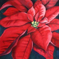 Fleur Rouge by Kathy Haney