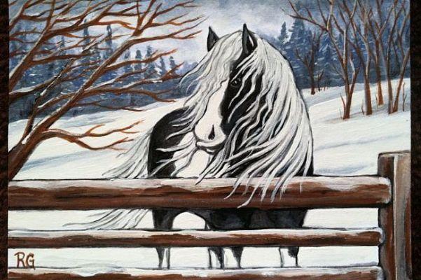 Winter's Beauty by Rhonda Gilbert