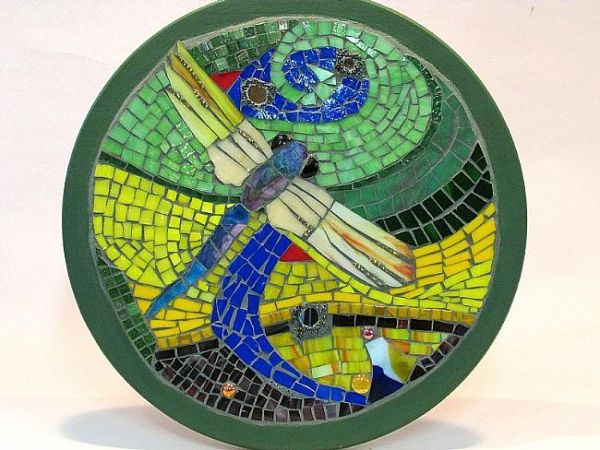 Dragonfly to Earth by Vermont Mosaics