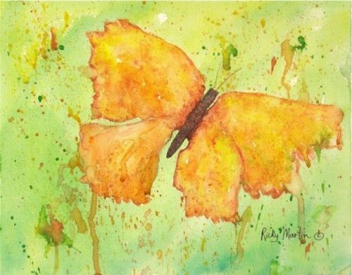 Butterfly #3 by Ulrike Martin