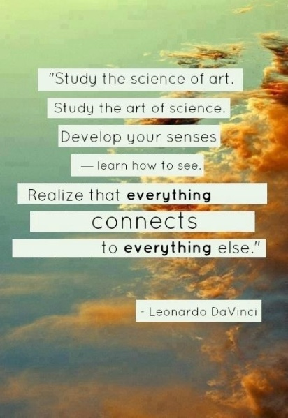 Study the science of art.