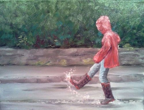 Puddle by Kimberly Vanlandingham
