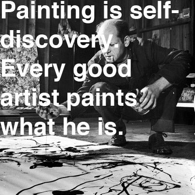 Painting is self-discovery