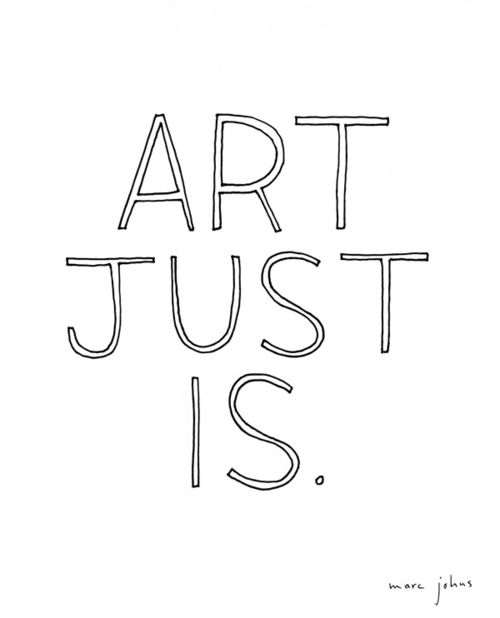 Art Just Is - Marc Johns