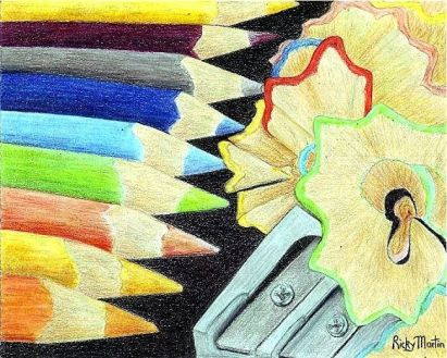 Colored Pencils by Ulrike Martin